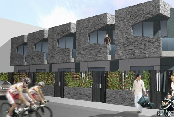 viviendas adosadas camino verde